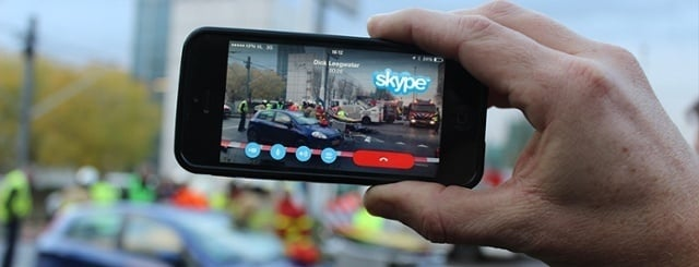 Using Skype and Hangout for live interviews